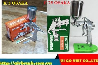 Súng phun sơn OSAKA K-3 và F-75 OSAKA