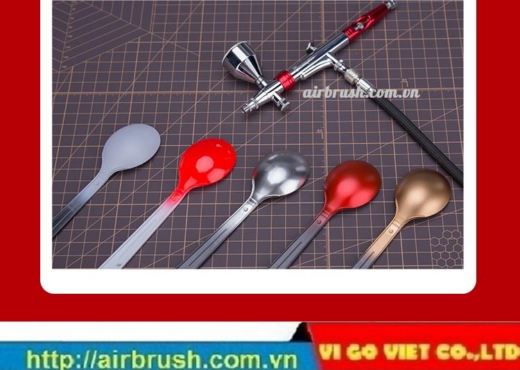 súng vẽ mỹ thuật airbrush HM-360 Hobby Mio